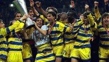 Il Parma festeggia la Coppa Uefa (1999)