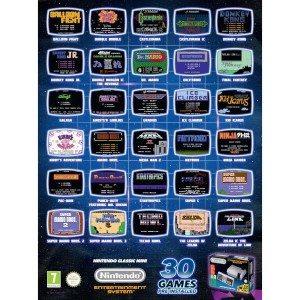 In foto: una selezione dei giochi disponibili su Nes