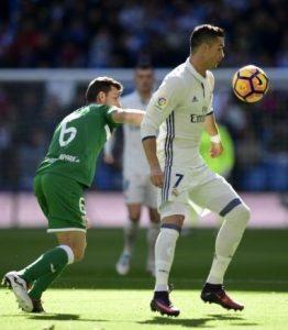 Al Bernabeu contro i Blancos di Cristiano Ronaldo
