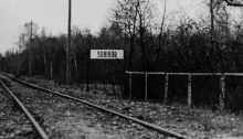 Sign at Sobibor