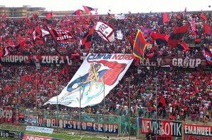 La curva Nord del Taranto