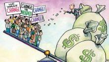 Otto miliardari guadagnano quanto la metà della popolazione globale (dati Oxfam)
