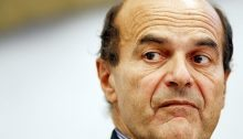 In foto: Pierluigi Bersani, ex segretario del Pd