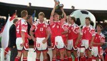 La Danimarca festeggia l'Europeo del 1992