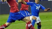 Giovinco in azione con la nazionale italiana