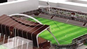 Il nuovo stadio Filadelfia