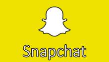 """Ecco il simbolo del noto social """"Snapchat"""""""