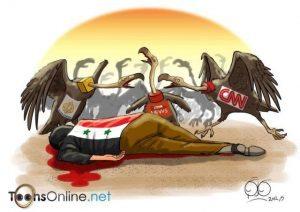 La guerra in Siria è stata presentata unilateralmente sui media occidentali