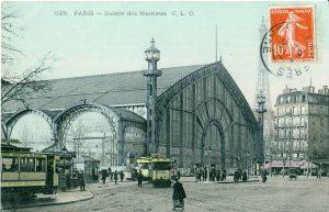 Un'illustrazione di Parigi a inizio Novecento