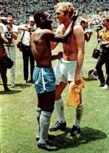 Ai Mondiali messicani del 1970 con Pelè