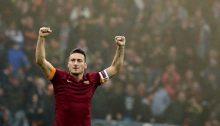 Totti, simbolo della Roma