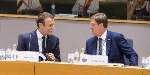 In foto: il presidente francese, Emmanuel Macron