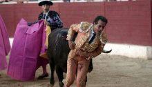 Il matador Ivan Fadino, ucciso da un'incornata nella Francia meridionale.