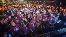 "In foto: un raduno di ""Lealtà Azione"""